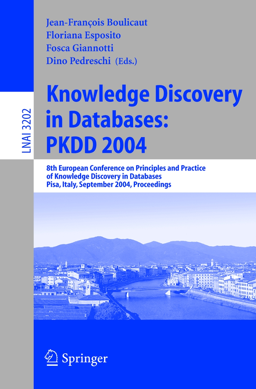 knowledge discovery in databases an overview essay