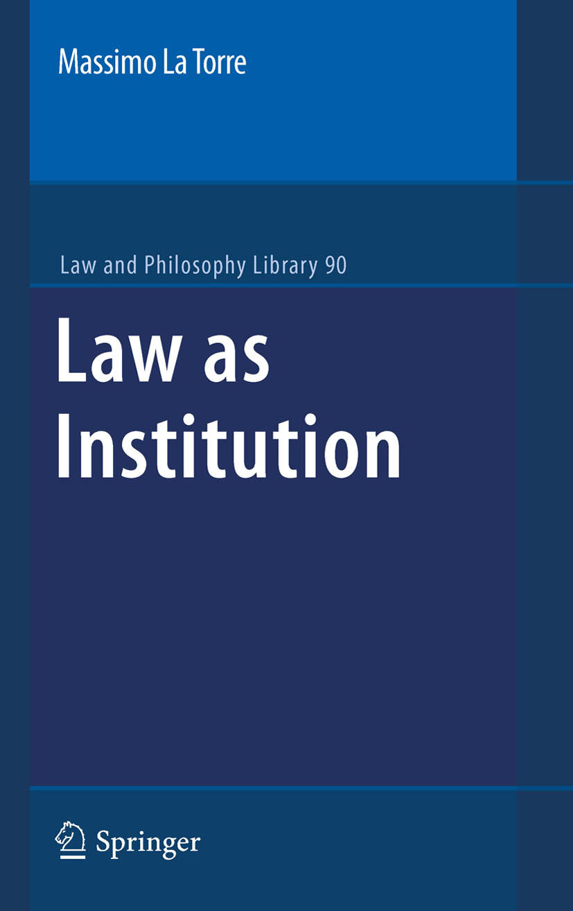 law as a social institution